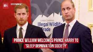 Prince William Welcomes His Brother To Fatherhood [Video]