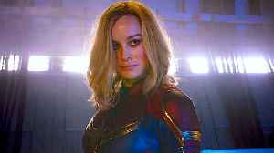 Captain Marvel with Brie Larson - Official 'Pre-Order' Trailer [Video]