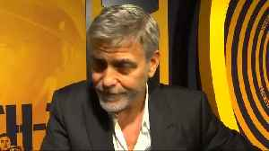 George Clooney says he is proud of wife Amal, Reuters on journalists release [Video]