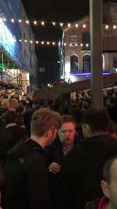 Liverpool Fans Sing You'll Never Walk Alone in City Square After Stunning Win Over Barcelona [Video]