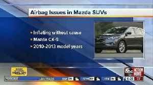 US probes inadvertent side air bag deployment on Mazda SUVs [Video]
