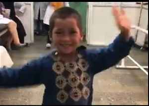 Afghan Boy Dances With Joy After Receiving Prosthetic Leg [Video]