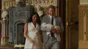 Prince Harry and Meghan reveal baby son's name [Video]