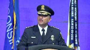 """Milwaukee Police Chief Alfonso Morales on 3 recent fallen officers: """"They will never be forgotten."""" [Video]"""
