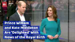 Prince William And Kate Middleton Respond To Meghan Markle's Birth [Video]