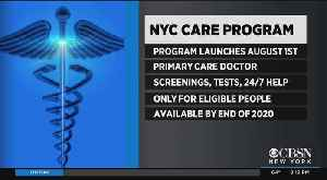 Mayor Rolls Out NYC Card Card Health Coverage Plan [Video]