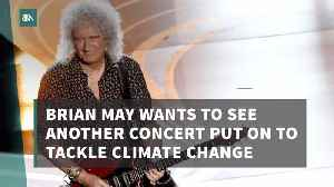 Brian May Will Play For Climate Awareness [Video]