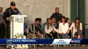 Gulf Coast community comes together for officer McKeithen's memorial service [Video]
