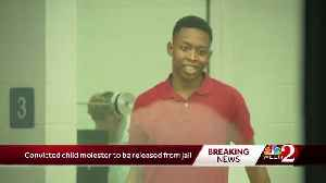 Convicted child molester released from jail [Video]