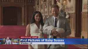 Royal Baby: Baby Sussex Revealed For The First Time [Video]