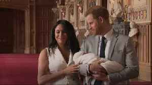 Duchess of Sussex: Baby son has the sweetest temperament [Video]