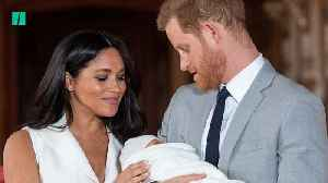 News video: 'Thrilled' Duke And Duchess Present Baby Sussex