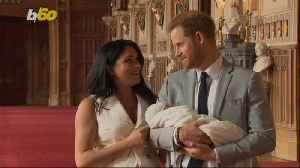 First Royal Baby Photos! Baby Sussex Makes His Debut Meghan Markle Describes as 'Magic' [Video]