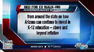 Teachers, parents plan 'Red for Ed' walk-ins throughout Tucson [Video]