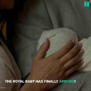Your First Glimpse At The Newest Royal Baby [Video]
