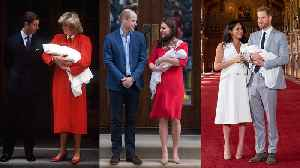 News video: The Royal Babies, Then and Now