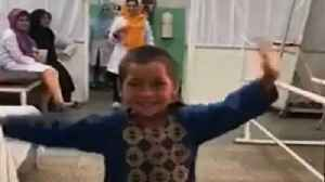 Watch: Afghan boy dances with his new prosthetic leg [Video]
