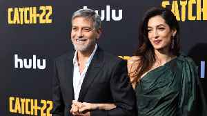 George Clooney jokes Royal Baby is 'stealing his thunder' by sharing his birthday [Video]