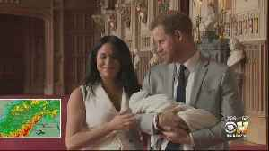 News video: Royal Baby Name Revealed: Harry And Meghan Name Son Archie