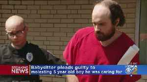 Babysitter Pleads Guilty To Rape, Going To Prison For 8-16 Years [Video]