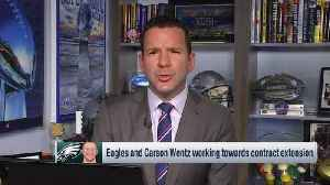 NFL Network Insider Ian Rapoport: Why Philadelphia Eagles quarterback Carson Wentz should wait before signing contract extension [Video]
