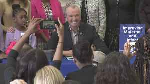 Gov. Murphy Signs Maternal Health Bill [Video]