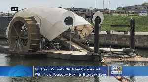 Mr. Trash Wheel's Birthday Celebrated With New Peabody Heights Brewery Beer [Video]
