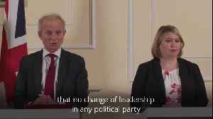 David Lidington: Changing the PM doesn't change the numbers [Video]