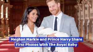 First Photos Of The Royal Baby Have Been Released [Video]