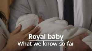 Royal baby: What we know so far about Archie [Video]