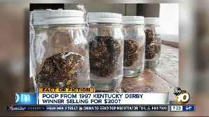 Old horse poop selling for $200? [Video]