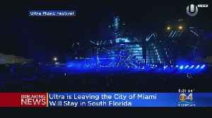 Ultra Says It's Leaving Miami [Video]