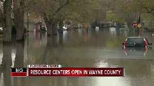 Resource centers open in Wayne County for those affected by floods [Video]
