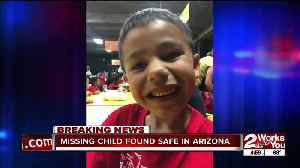 Missing 7-year-old found safe in Arizona [Video]