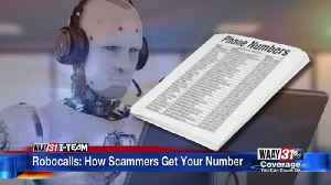Robocalls: How Scammers Get Your Number [Video]