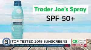 Consumer Reports tests the best sunscreens for 2019 [Video]
