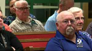 Mobile home park residents speak out at public hearing on rezoning [Video]