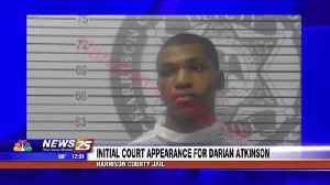 Darian Atkinson makes initial court appearance [Video]
