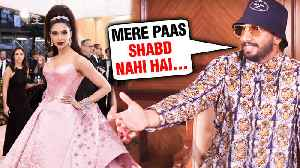 Ranveer Singh EPIC REACTION On Deepika Padukone Met Gala 2019 Look [Video]