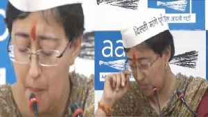 Atishi Marlena cries out after the Mixed Breed Comment by Gautam Gambhir | Oneindia News [Video]