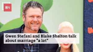 Blake Shelton And Gwen Stefani Have A Lot To Discuss [Video]