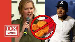 Amy Schumer Goes At Chance The Rapper For Supporting Wendy's [Video]