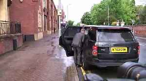 Beckham arrives at court as he faces possible driving ban [Video]