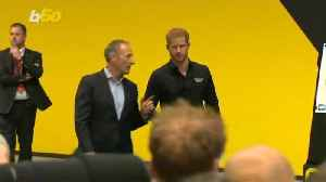 Prince Harry Lets Everyone Know He is 'Daddy' [Video]