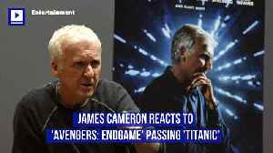 James Cameron Reacts to 'Avengers: Endgame' Passing 'Titanic' [Video]