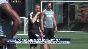 FC Cincinnati players show support for Yoann Damet [Video]