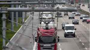 Germany opens first electric highway [Video]