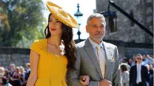 George Clooney Addresses Rumors He Is Royal Baby's Godfather [Video]