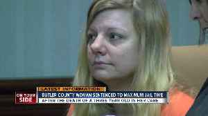 Butler County woman gets maximum jail time [Video]
