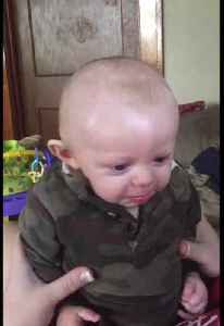 Baby Gets Emotional when he Thinks Mom is Crying [Video]